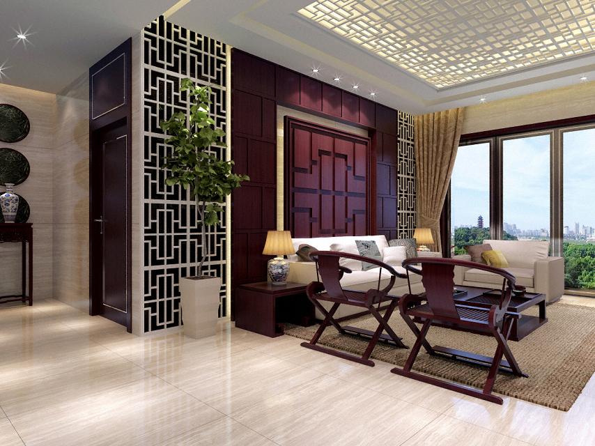 新中式风格样板间设计