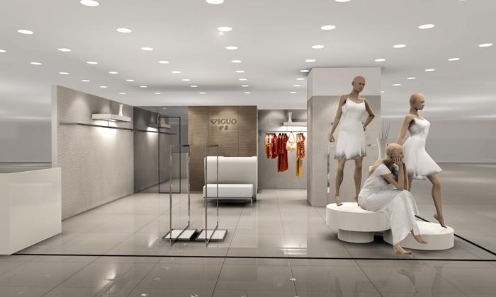 商場服裝店面裝修設計的7種常見類型