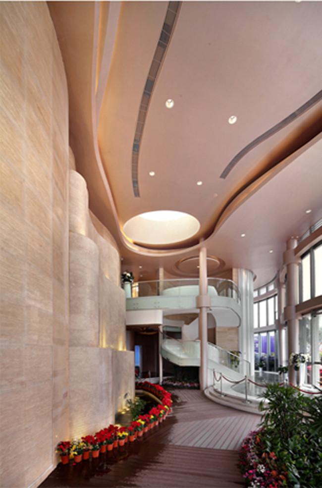 项目名称:康达尔山海上城售楼处设计 项目背景:康达尔山海上城位于