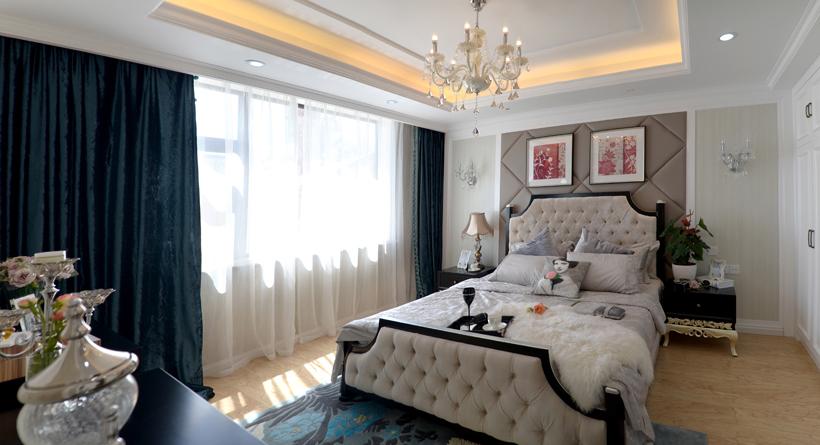 臥室花架隔斷窗簾